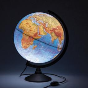 Глобус Физико-политический, 32см. с подсветкой., GLOBEN
