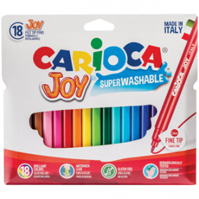 """Фломастеры 18цв. """"Carioca Joy"""""""