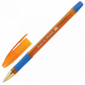 Ручка шариковая 0,7мм Model-XL ORANGE, синяя, Brauberg