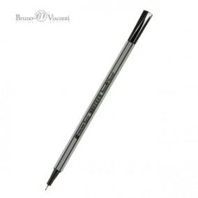 Ручка капиллярная 0,4мм, BASIC (ФАЙНЛАЙНЕР) с грипом, ассорти, BV