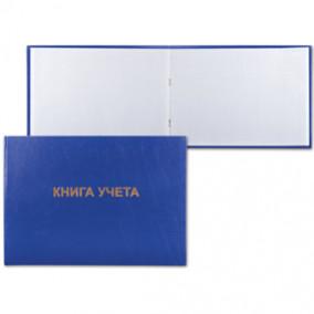 Книга учёта 96л. А4 клетка б/в, блок офсетный,альбомный, Brauberg