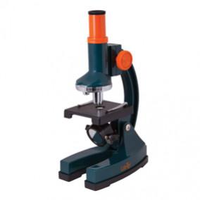 Микроскоп LEVENHUK LabZZ M1, 100-300 крат, монокулярный, 3 объектива (69739)