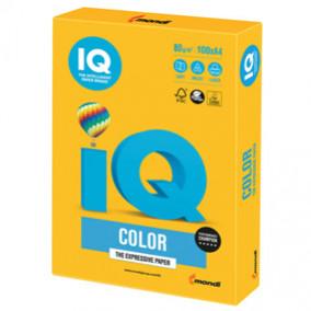 Бумага IQ MAESTRO Color 80, 100л. Насыщено-желтый