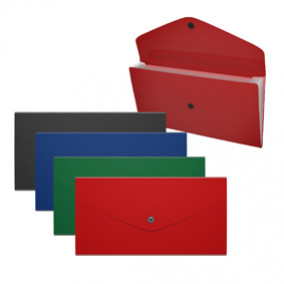 Папка-картотека Check size 3 отд, Matt Classic ассорти, ЕК
