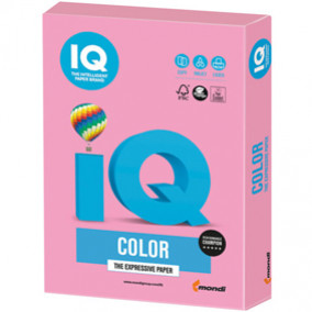 Бумага IQ MAESTRO Color 160, 250л. Розовый