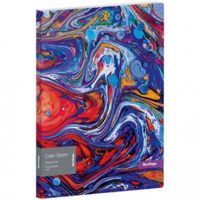 """Папка на 20 файлов """"Color Storm"""", карман, Berlingo"""