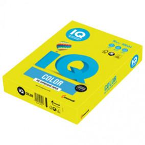 Бумага IQ MAESTRO Color 80, 500л. Жёлтый неон