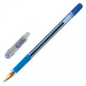 Ручка шариковая 0,5-1мм, MC GOLD, грип, ассортим.