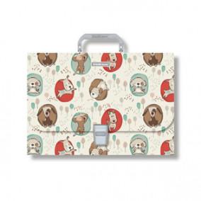 Портфель пластик, А4, Little Dogs, ЕК