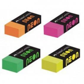 Ластик Faber-Castell NEON, картонный футляр