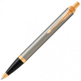 Ручка шариковая Parker IM Core Brushed Meta GT,синяя