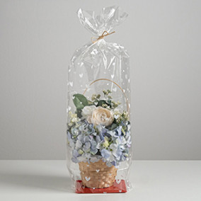 Пакет с жёстким дном «Любовь», 14 х 14 х 60 см