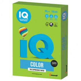 Бумага IQ MAESTRO Color 80, 100л. Ярко-зелёный