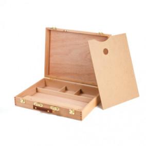 Этюдный ящик, бук, 40х31х8см, Brauberg