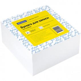 Блок для записи OfficeSpace 9*9*4,5см белый, на склейке
