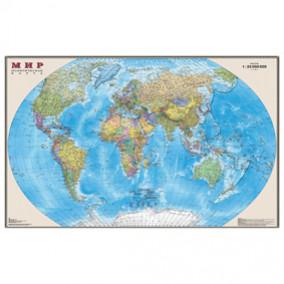 Карта настенная Мир. Политическая,  1:30 млн., 122*79см