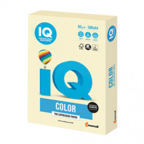 Бумага IQ MAESTRO Color 80, 500л. Ванильно-бежевый