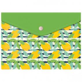 Конверт на кнопке А5 Лимоны, Феникс