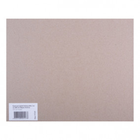 Картон для худ. работ 24х30см, плотность 2000г/м2, толщина 2,5мм