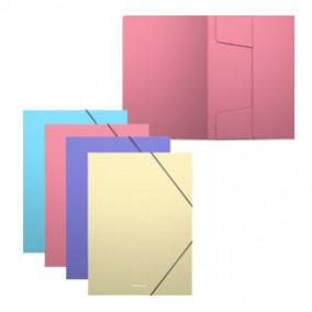 Папка на резинках А5+ Matt Pastel, ЕК