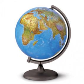 Глобус Физико-политический, 30см, с подсветкой, Tecnodidattica (0330ORRSF0FI1G04)