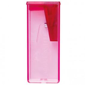 Точилка пластиковая Faber-Castell, 1 отверстие, контейнер, цвета ассотри
