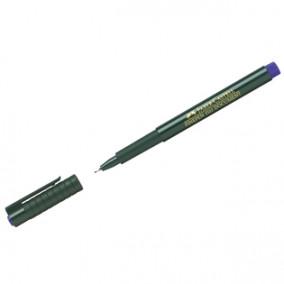 """Ручка капиллярная Faber-Castell """"Finepen 1511"""" синяя"""