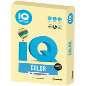 Бумага IQ MAESTRO Color 160, 250л. Жёлтый