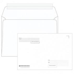 Конверт C4 229*324 с подсказом, б/окна, отр. лента