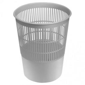Корзина д/бумаг сетчатая 14 л. пластик, Brauberg