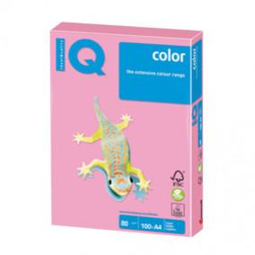 Бумага IQ MAESTRO Color 80, 100л. Розовый фламинго